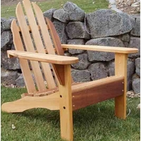 Cedar Northern Cottage Adirondack Chair