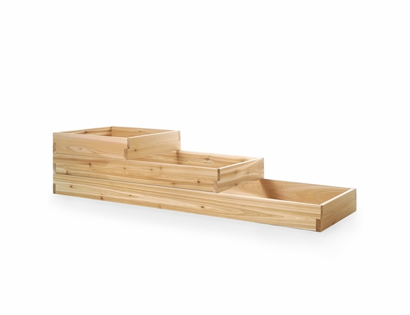Cedar Tiered Planting Bed Kit
