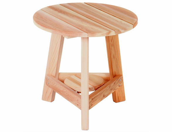 Cedar Tripod Side Table Kit