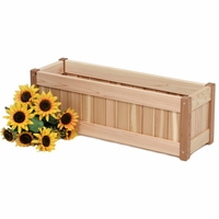Cedar Windowbox Kit - Available to Ship End of June
