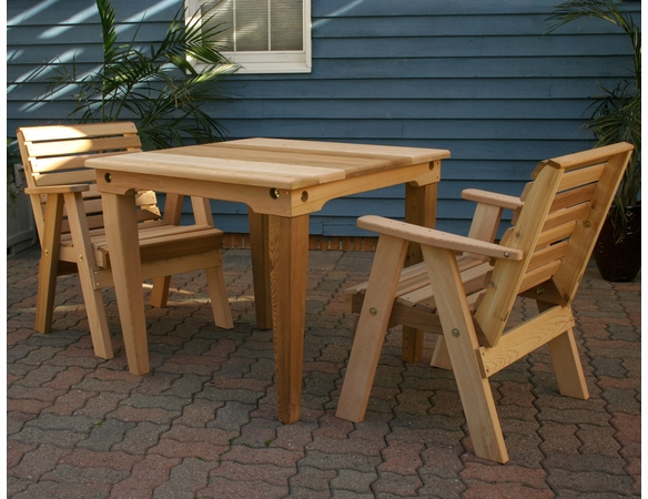 Classic Dining Set - Cedar - Spring Kickoff Sale - May Only