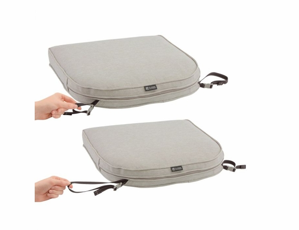 Contoured Replacement Chair Cushion 18 X 18 X 2