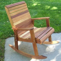 Countryside Cedar Rocking Chair