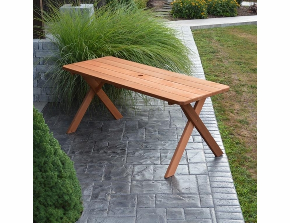 Cross-legged Cedar Table Only (4', 5', 6', or 8')