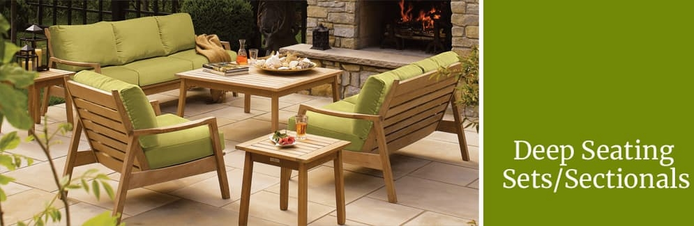 Deep Seating Sets & Sectionals