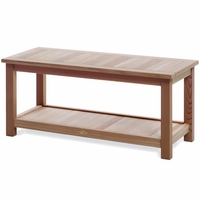 Deluxe Cedar Sauna Bench Kit
