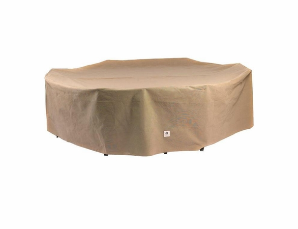"Duck Covers 109""L Rectangle Patio Table and Chairs Cover"