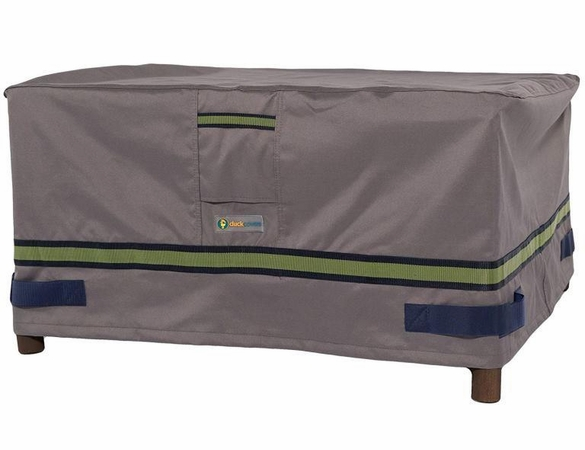 """Duck Covers 30""""L Patio Ottoman / Side Table Cover"""