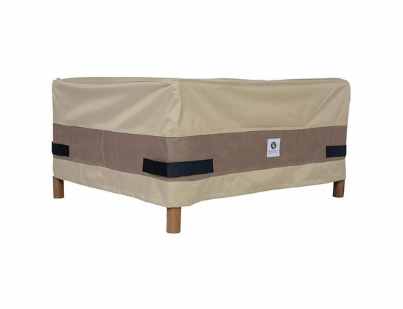 "Duck Covers 52""L Patio Ottoman / Side Table Cover"