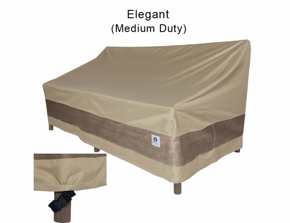 """Duck Covers 54""""W Patio Loveseat Cover"""