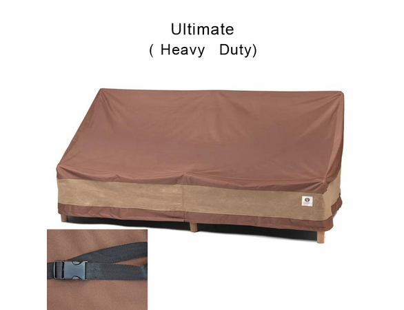 "Duck Covers 62""W Patio Loveseat Cover"