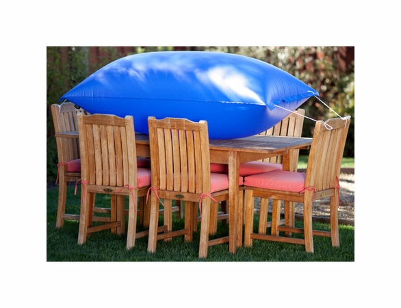 "Duck Covers 76""L Square Patio Table and Chairs Cover"