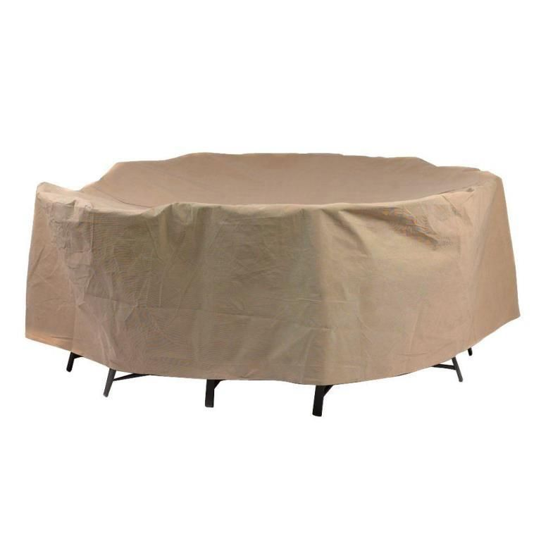 Duck Covers 90 Dia Round Patio Table And Chairs Cover