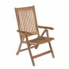 Royal Teak Estate Reclining Folding Armchair