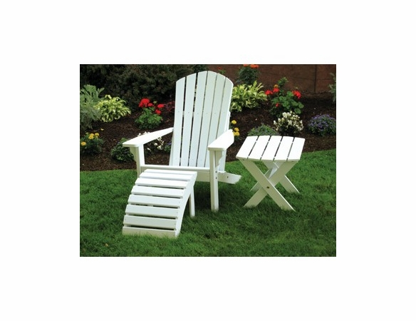 Fan Back Pine Adirondack Chairs