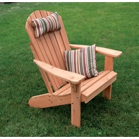 Fan Back Cedar Adirondack Chairs