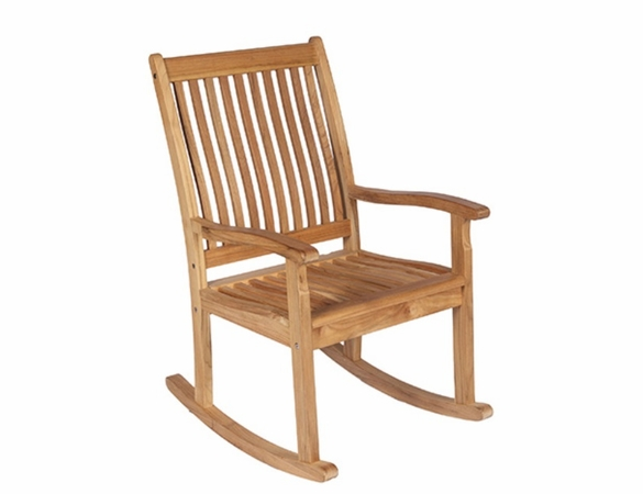 Royal Teak Highback Rocking Chair - Out of Stock til Md Aug