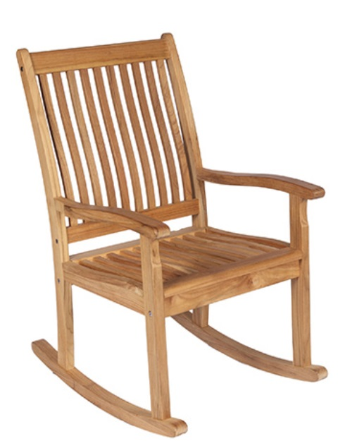 timeless design 92690 73ddd Royal Teak Highback Rocking Chair - Unavailable 'til Begin of Oct