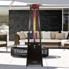 Lava Heat 2G Flame Outdoor Heater - Natural Gas Option - Currently Out of Stock
