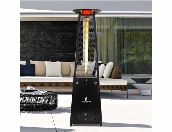Lava Heat Lava Lite A Shape Outdoor Heater - Natural Gas Option - Currently Out of Stock
