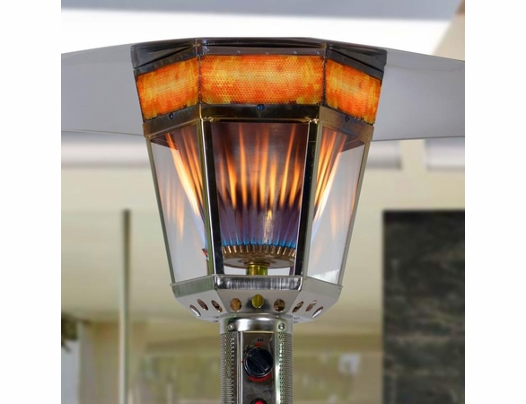 Lava Heat Vincenza Mushroom Style Outdoor Patio Heater - Currently Out of Stock