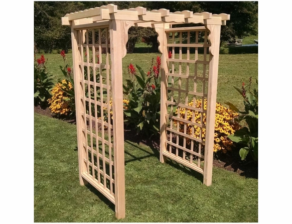Lexington Flat Top Arbor - 4', 5' or 6' Options
