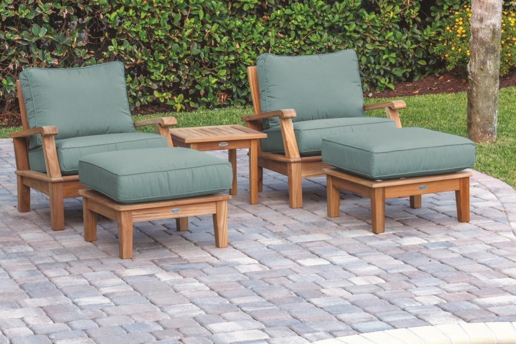 Outdoor Chair Ottoman Set Off 67, Patio Chairs With Ottoman