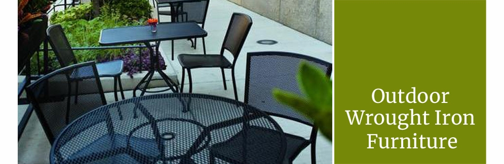 Wrought Iron Patio Furniture & Sets