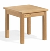 "Oxford Garden 18"" Square Shorea End Table - Reduced Closeout Pricing"