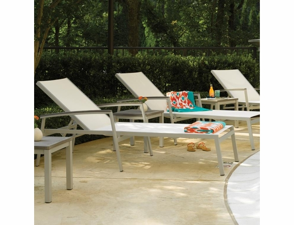 Oxford Garden 3 Pc Travira Sling Chaise Lounge Set - Additional Summer Sale Pricing