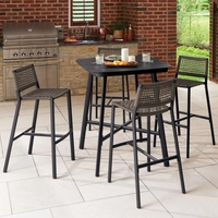 Oxford Garden 4 Seat Bar Set - Spring Season Sale