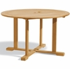 "Oxford Garden 48"" Round Teak Dining Table - Cyber Monday Sale Pricing"