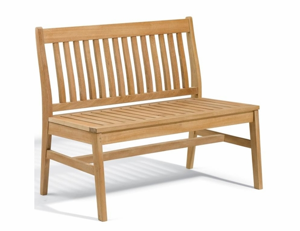 """Oxford Garden 5 Pc Wexford 48"""" Dining Bench & Chair Set - Reduced Closeout Pricing"""