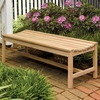 Oxford Garden Backless 5' Shorea Bench - Reduced Closeout Pricing