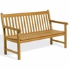 Oxford Garden Classic 5' Teak Bench - Cyber Monday Sale Pricing