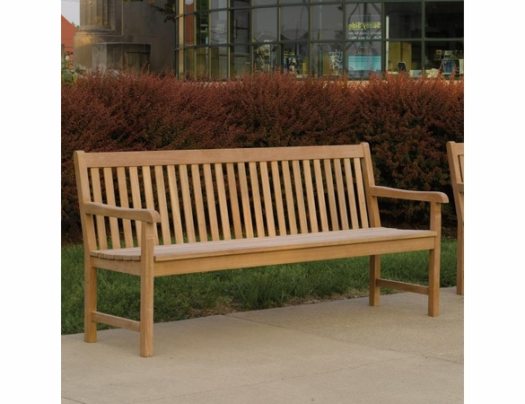 Oxford Garden Classic 6' Teak Bench - Cyber Monday Sale Pricing