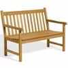 Oxford Garden Classic Teak 4' Bench - Cyber Monday Sale Pricing
