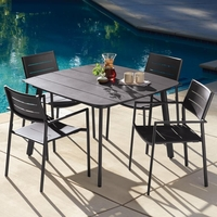 Oxford Garden Eiland 4 Seat Dining Set - Additional Summer Sale Pricing