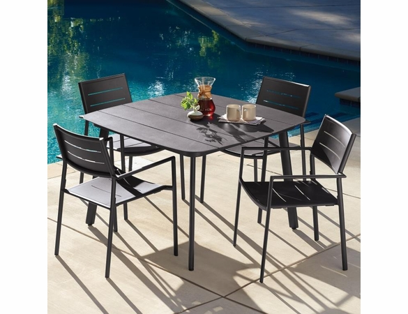 Oxford Garden Eiland 4 Seat Dining Set - Extra Spring Preview Discounts