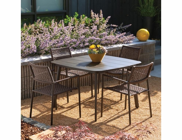 Oxford Garden Eiland 5 Piece Dining Set - Summer Sale Event Additional Discounts
