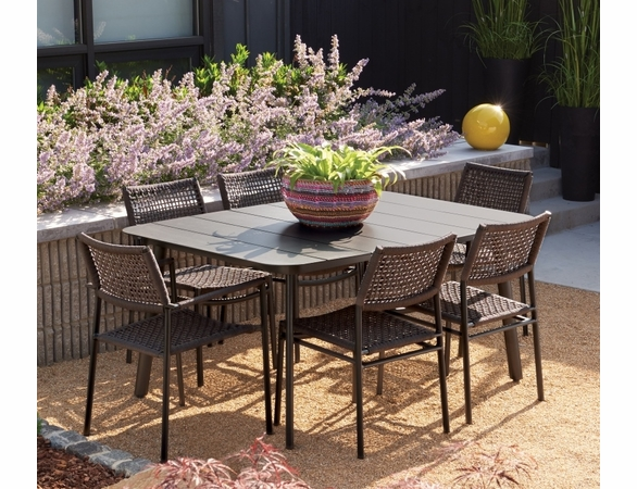 Oxford Garden Eiland 7 Piece Dining Set - Additional Summer Sale Pricing