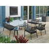 Oxford Garden Eiland 7 Piece Seating Set - Additional Summer Sale Pricing