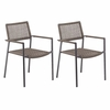 Oxford Garden Eiland Dining Arm Chair (Set of 2)