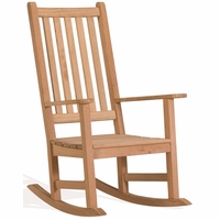 Oxford Garden Franklin Teak Rocking Chair - Spring Season Sale