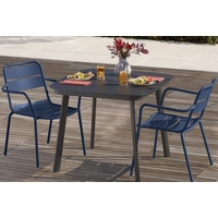 Oxford Garden Kapri 2 Seat Arm Chair Dining Set - Spring Season Sale
