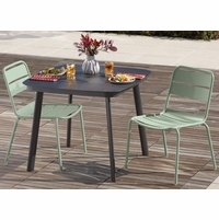 Oxford Garden Kapri 2 Seat Side Chair Dining Set - Spring Season Sale