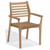 Oxford Garden Mera Teak Stacking Armchair (Set of 2) - Available to Ship the Beginning of June