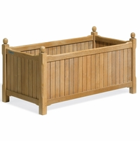 Oxford Garden Rectangular Shorea English Planter 38""