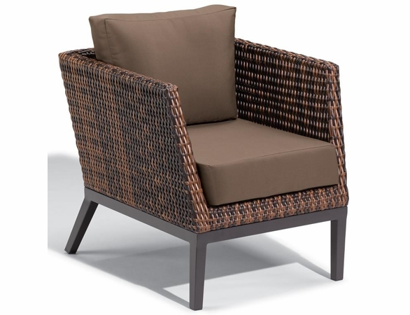 Oxford Garden Salino Wicker Club Chair - Additional Summer Sale Pricing