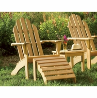 Oxford Garden Shorea Adirondack Chair - Reduced Closeout Pricing